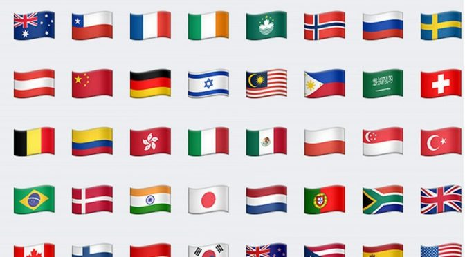MYSQL: Get Flag Emoji Unicode from ISO 3166-1 Alpha-2 Country Codes